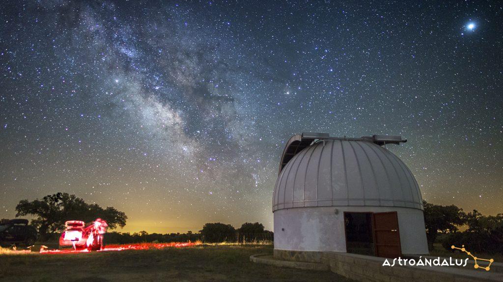 Observatorio de estrellas Villanueva del Duque